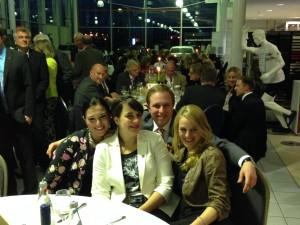 Ole vom RT 76 mit den LC Mädels, Audrey, Frauke und Anna(v.l.n.r)