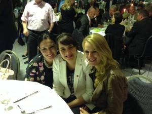 Audrey, Frauke und Anna (v.l.n.r)