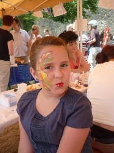 5./06.07.2014 Kinderschminken
