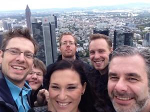 Besuch auf dem Main-Tower