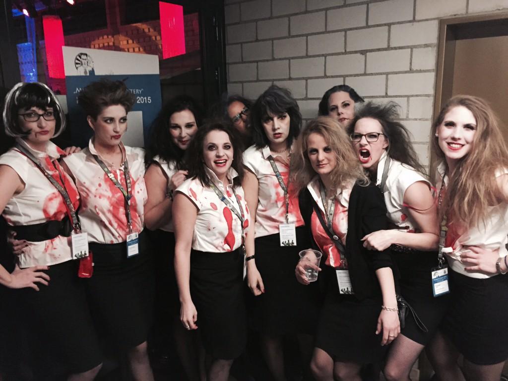 LC 36 mit 10 Ladies am Start ... so ein bisschen hatten wir vor uns selbst Angst